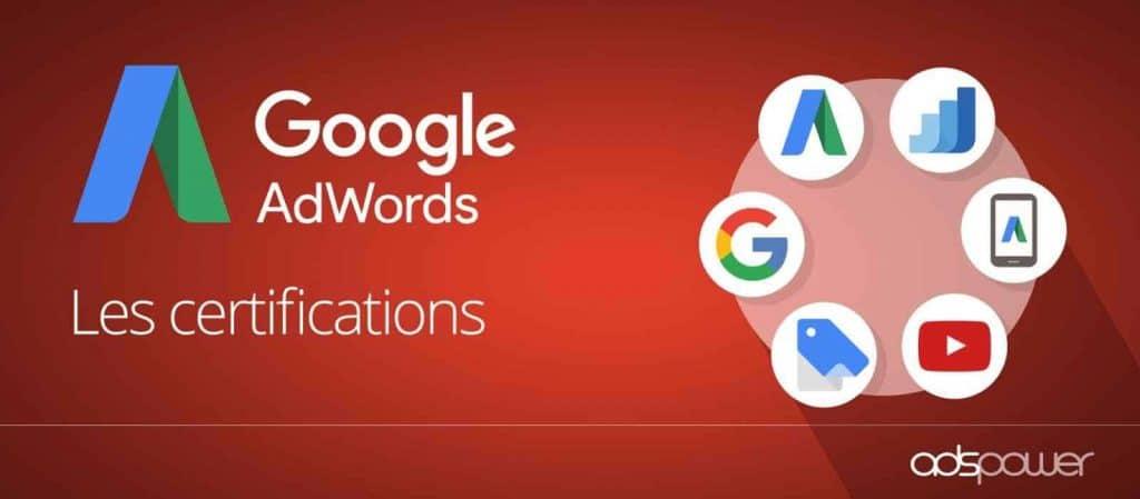 La certification Google Ads est une accréditation professionnelle délivrée par Google