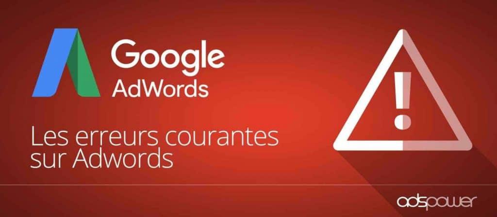 Les principales erreurs qui vous font perdre de l'argent sur vos campagnes Google Ads