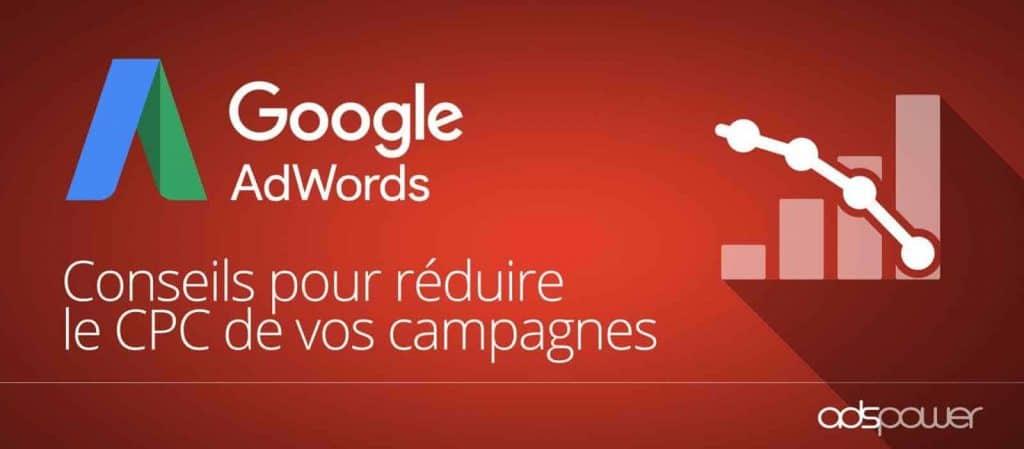 Comment faire baisser le coût par clic de vos mots clés Google Ads ?