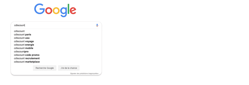Suggestions de recherche de Google et atteintes à la réputation. Quelles sont les actions possibles.