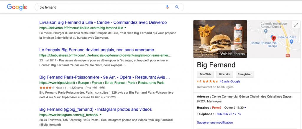 Stimuler les avis sur votre page Google my Business.