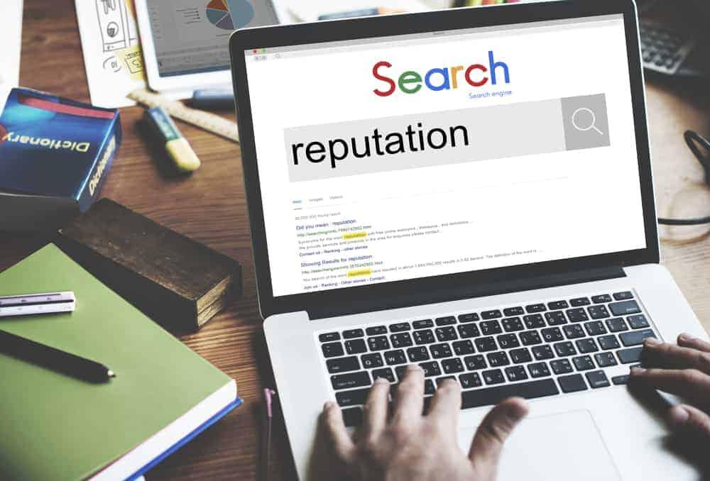 E-réputation sur Google
