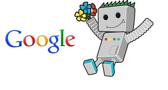 Indexation sur le moteur de recherche Google