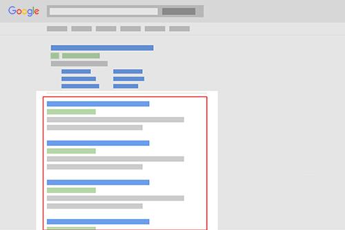 Les différentes variables des positions sur Google