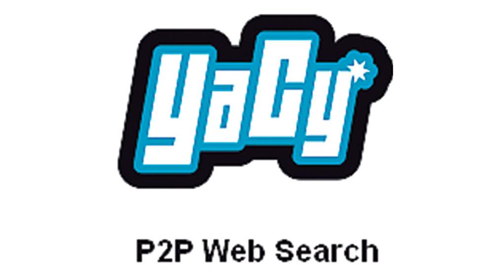 Yacy est basé sur le principe peer-to-peer