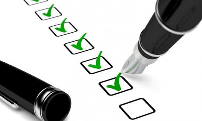 Checklist de l'audit de référencement