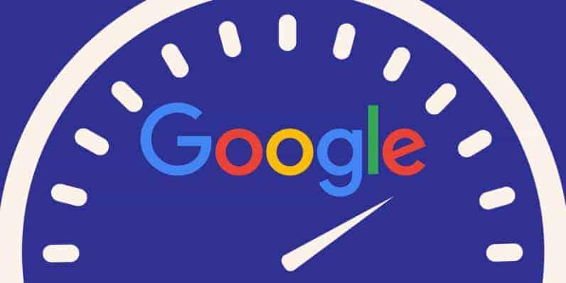 La vitesse est un facteur de référencement pour Google