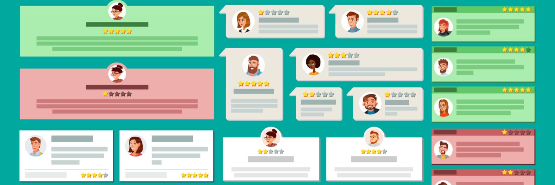 Comment répondre aux avis négatifs et positifs avec un e-commerce